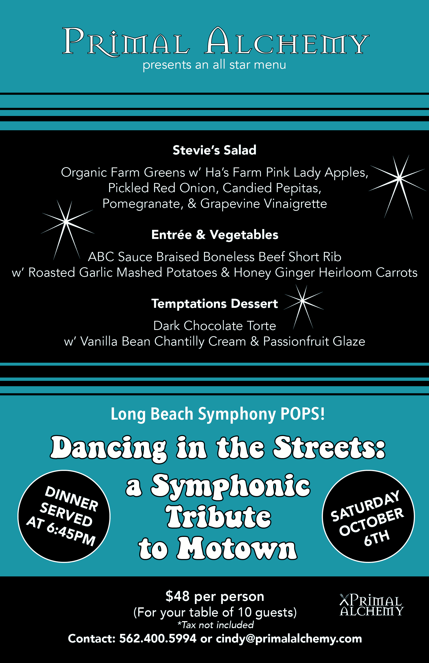 Dining and Catering - Long Beach Symphony