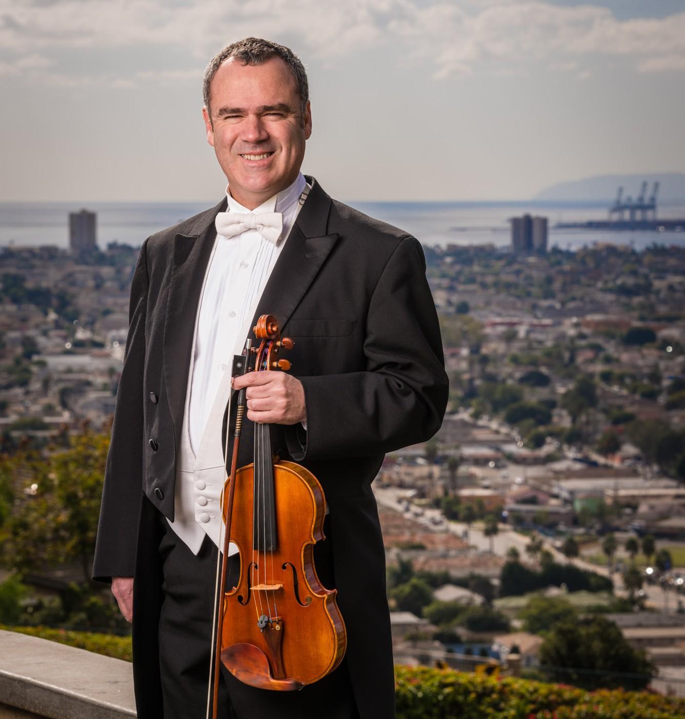 Roger Wilkie Concertmaster